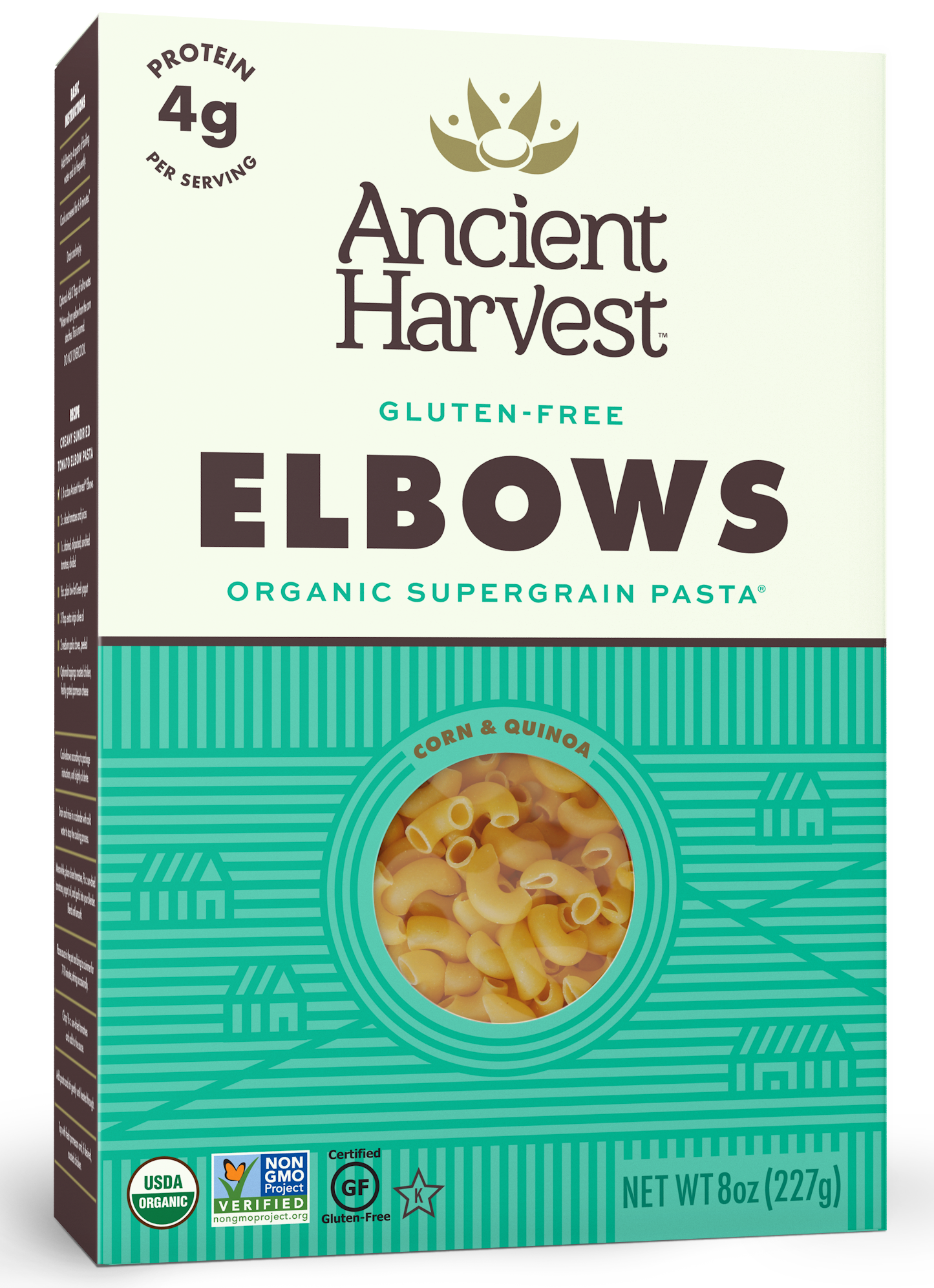 Ancient Harvest Quinoa Gluten Free Elbows Pasta, 8 oz (Pack of 12) by Generic
