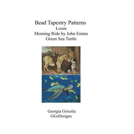 Bead Tapestry Patterns Loom Morning Ride By John Emms Green Sea Turtle