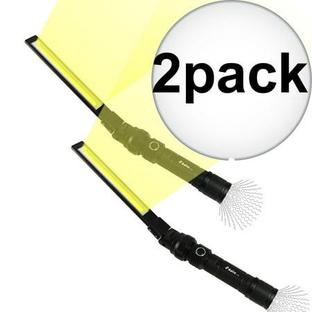 Astro Pneumatic 31SL 310 LU Fold & Swivel Rechargeable Cob Led Slim Light 2-Pack