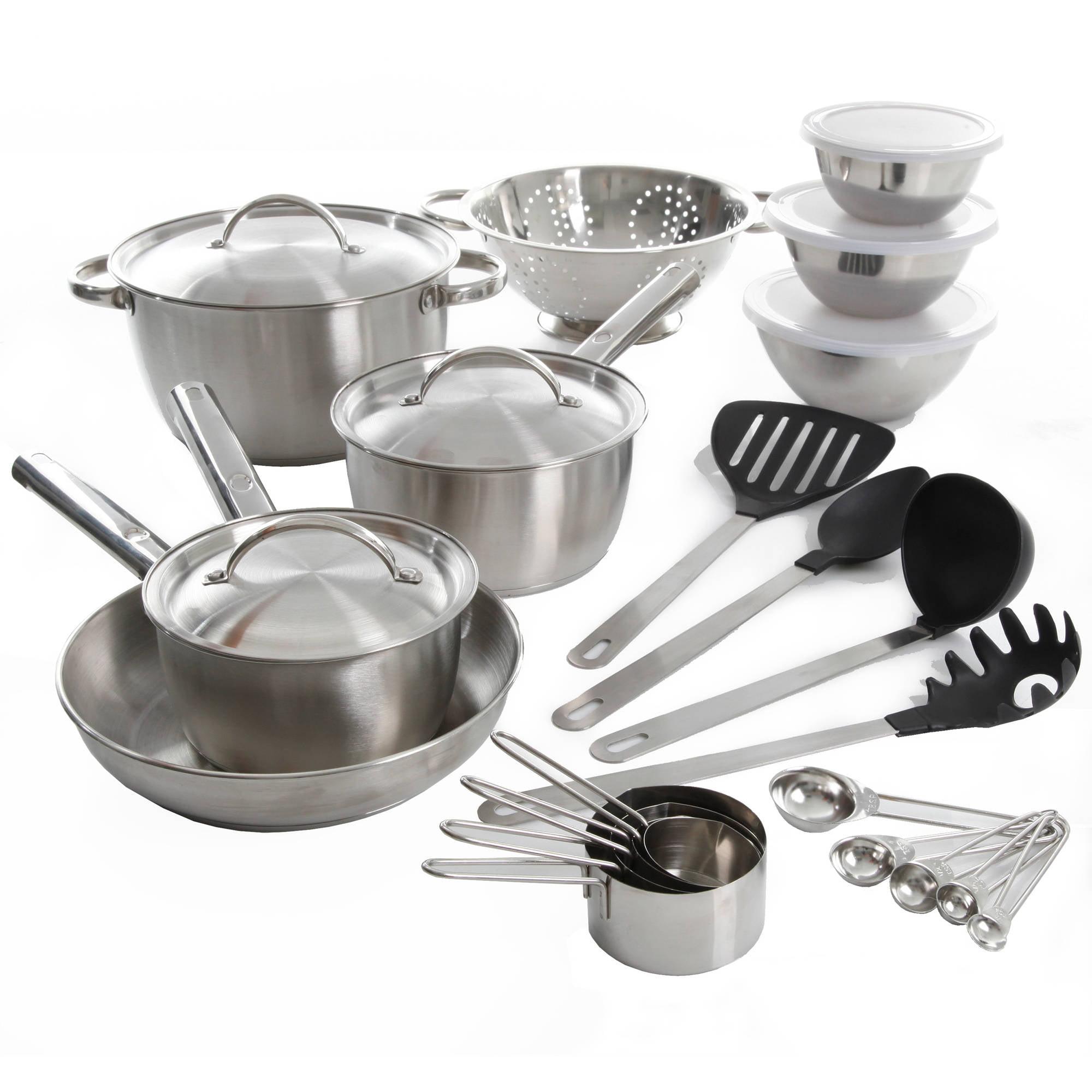 Gibson Home Rosenberg 27-Piece Cookware Combo Set