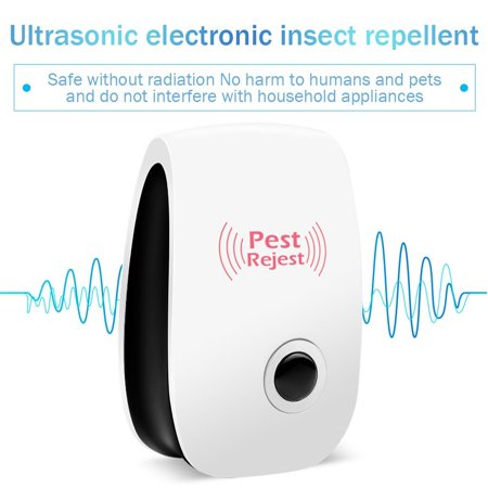 Ultrasonic Pest Reject Electronic Magnetic Repeller Anti Mosquito Insect Killer,Mosquito Repeller, Home Mosquito Repeller - image 8 of 12