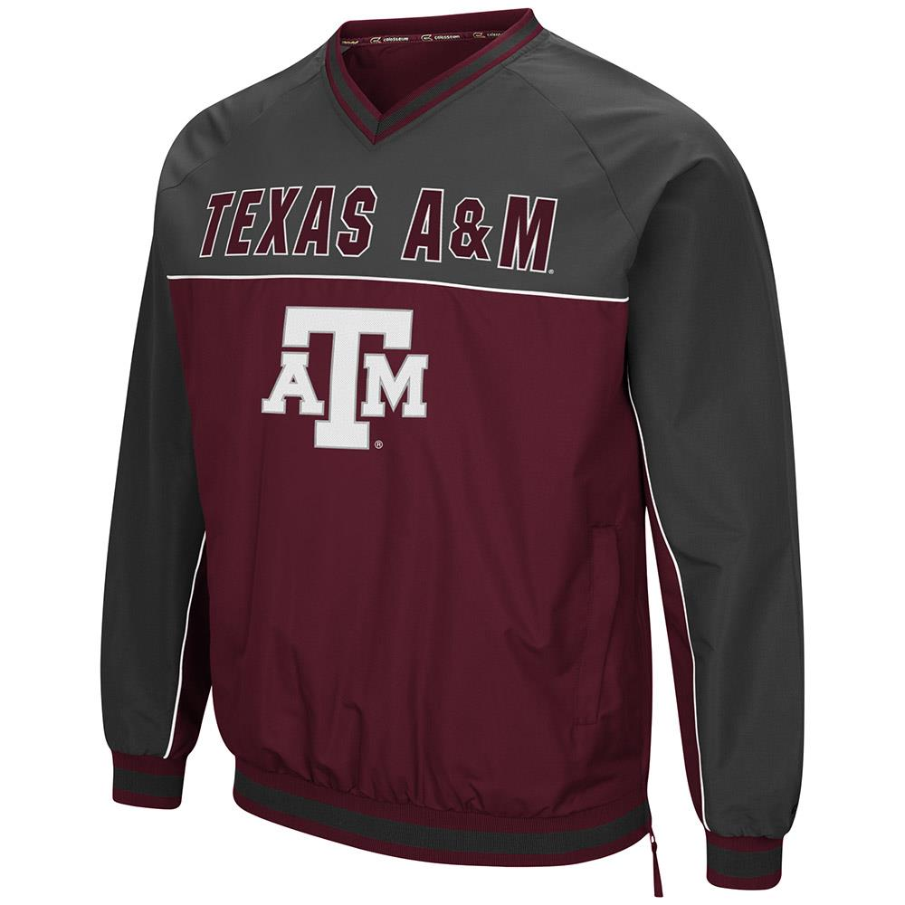 Mens Texas A&M Aggies Windbreaker Jacket L by Colosseum