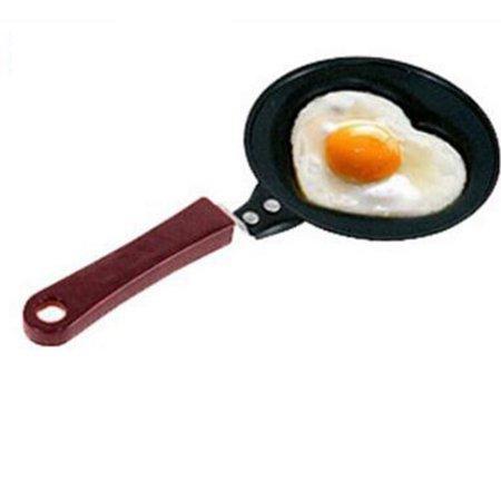 Mini Non-Stick Egg Pancake Frying Pan DIY Omelette Breakfast Maker Pattern:Love Heart