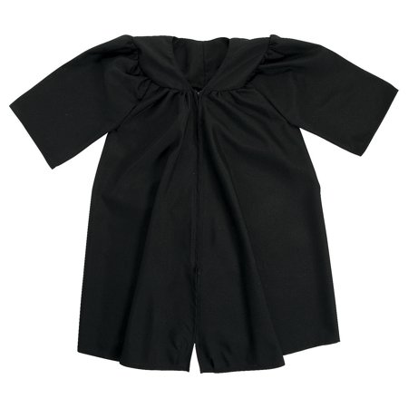 Black Graduation Robe for Kids - 1 Piece - Elementary Schools (Graduation Robes)