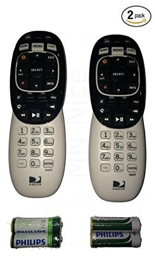 "2 DirecTV RC73 RF IR Remote Control for RC71 RC72 Direct TV HR44 /""C/"" Brand NEW"