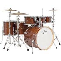"""Gretsch Catalina Maple 6-Piece Shell Pack w/ Free Additional 8"""" Tom - Walnut Glaze"""