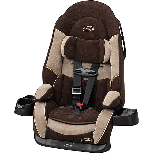Evenflo Chase Deluxe Harness Booster Car Seat, Nashville