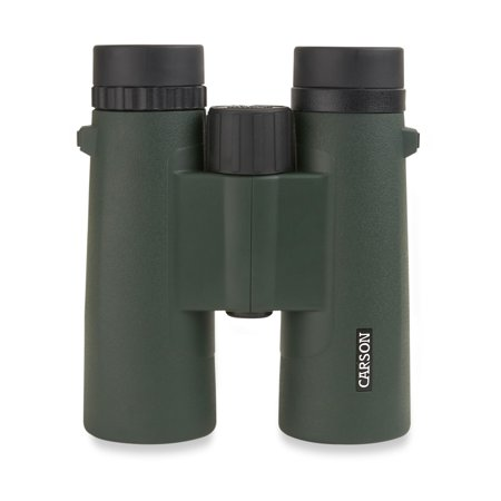 Carson JR Series 10x42mm Full Sized Waterproof Binoculars for Bird Watching, Hunting, Sight-Seeing, Surveillance, Concerts, Sporting Events, Safaris, Camping, Travel and Outdoor Adventures (JR-042)