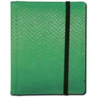 Binder - 4 Pocket Dragon Hide Green By Legion Supplies