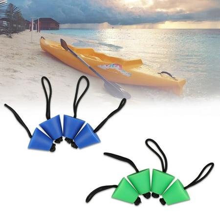 TSV 4PCS Best Universal Kayak Scupper Plug Kit Kayak Scupper Plug Kit Canoe Drain Holes Stopper