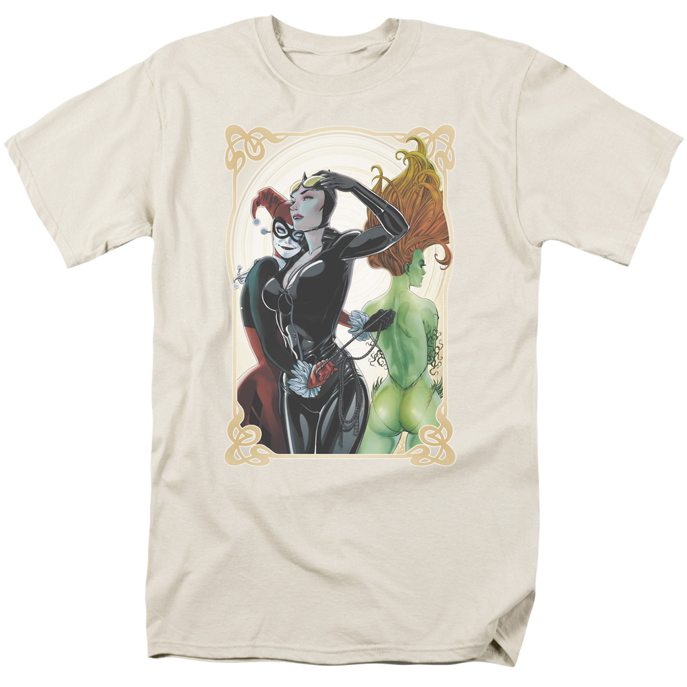 Batman/Sirens Nouveau   S/S Adult 18/1   Cream     Bm2260