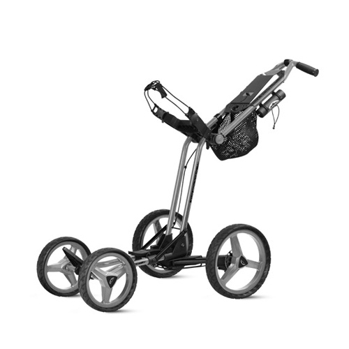New Sun Mountain Micro-Cart GT Push Cart - Silver