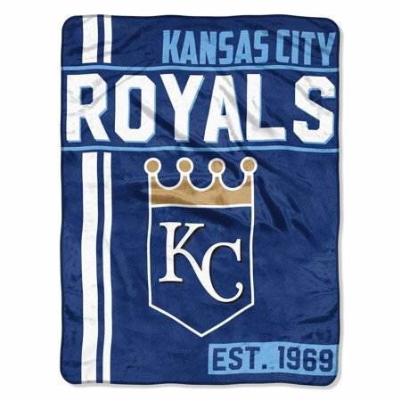 "MLB Kansas City Royals ""Walk Off"" 46""x 60"" Micro Raschel Throw - Party City League City"