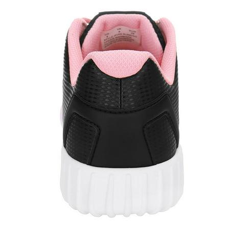 PYPE Women Contrast Color PU Panel Mesh Training Shoes Black US 7.5 - image 1 de 7