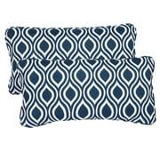 Mozaic Company Stella Indoor/Outdoor Lumbar Pillow (Set of 2)