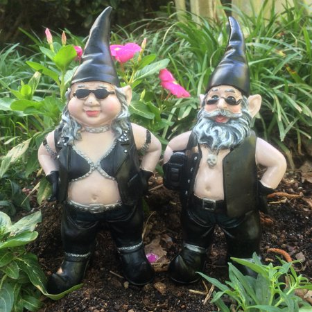 Homestyles™  -  Nowaday Gnomes™ - Biker Gnomes™ -