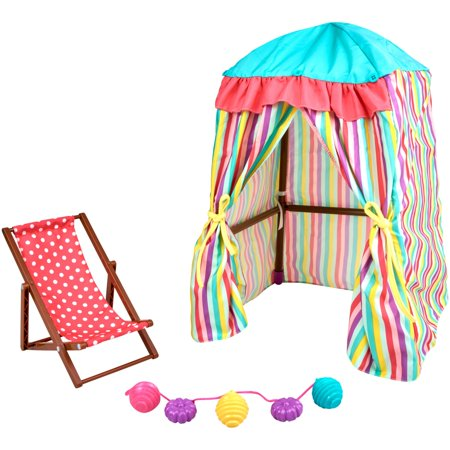 My life as 3 piece beach cabana play set, for 18