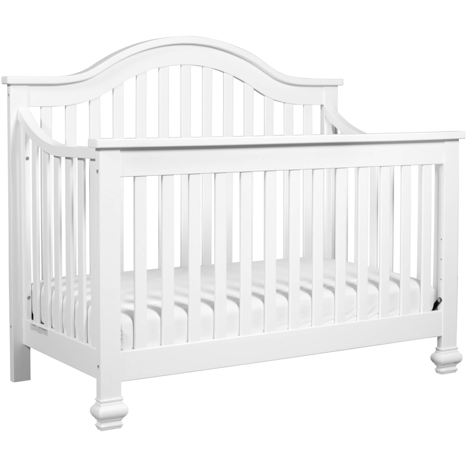 espresso in elizabeth kalani your angle ii convertible with cribs bed product crib davinci rail one toddler