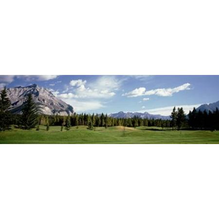 Golf Course Banff Alberta Canada Poster - Banff Springs Golf Course