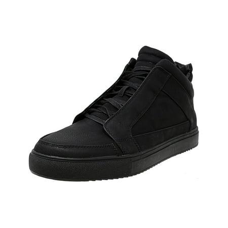 cecd268f0a5 Steve Madden Men's Dodge Nubuck Black Mid-Top Fashion Sneaker - 12M ...