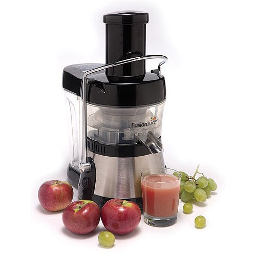 Tristar Black Stainless Steel Fusion Juicer
