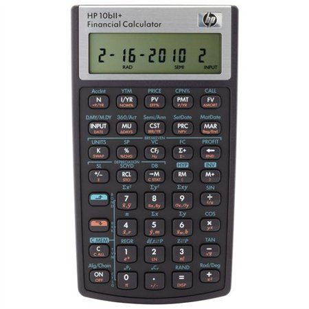 Hp 10Biiplus Financial Calculator   1 Line S    12 Character S    Lcd   Battery Powered   5 7   X 3 2   X 0 6    2716570