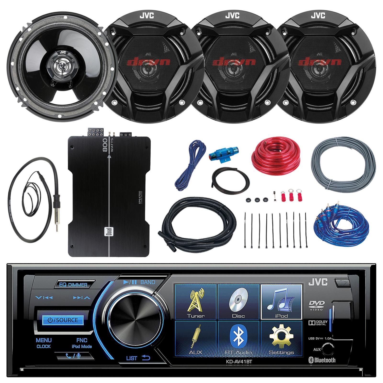 Jvc bluetooth car stereo walmart 8