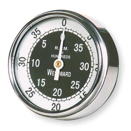 Westward 3BY11 Analog Dial Tachometer