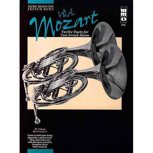Mozart Twelve Pieces for Two Horns, KV487