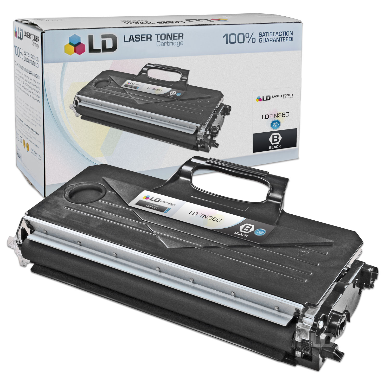 LD Compatible Brother TN360 (TN330) HY Black Toner Cartridge for DCP-7030, DCP7-7040, DCP-7045N, HL-2140, HL-2150N,