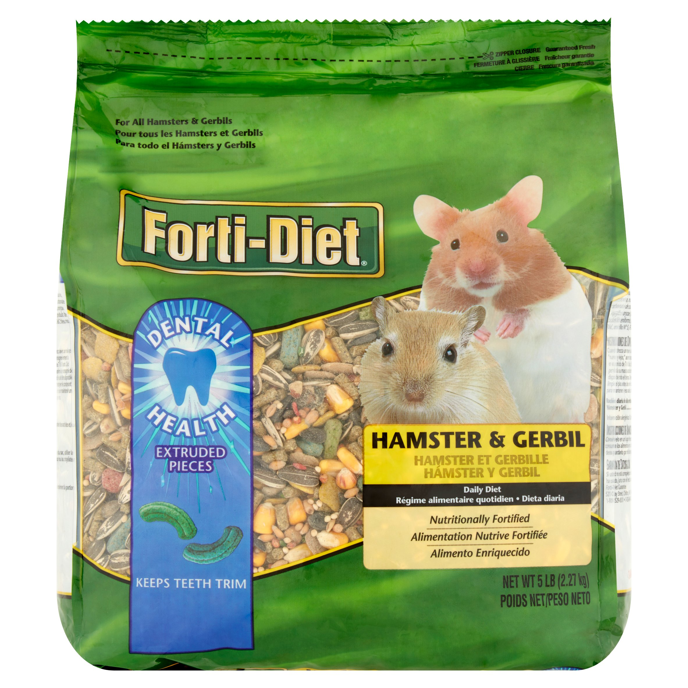Forti-Diet Hamster & Gerbil Daily Diet, 5 lb by Wal-Mart Stores, Inc.