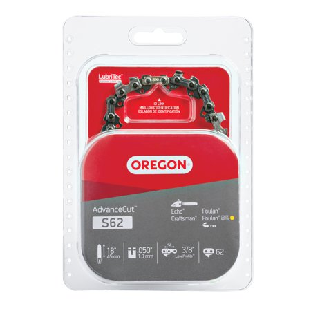 """Oregon S62 AdvanceCut™ Saw Chain, 18"""""""