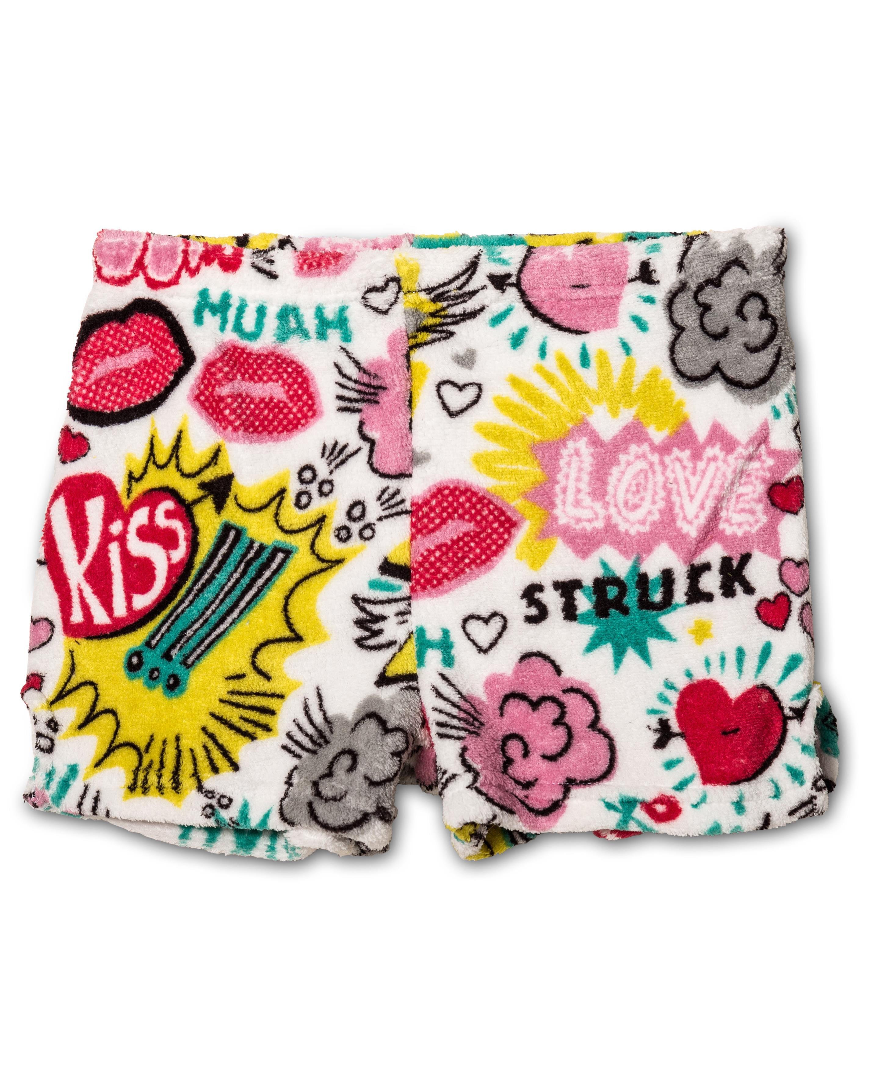 Up Past 8 Plush Pajamas shorts for Girls, XOX, Size: 7