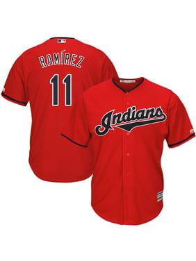 Jose Ramirez Cleveland Indians Majestic Alternate 2019 Cool Base Player Jersey - Scarlet