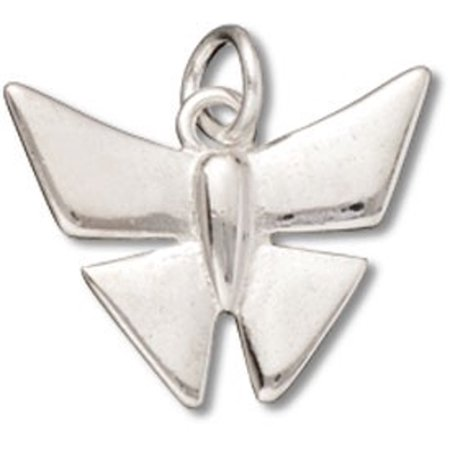 Silver 8mm Origami - Sterling Silver 16
