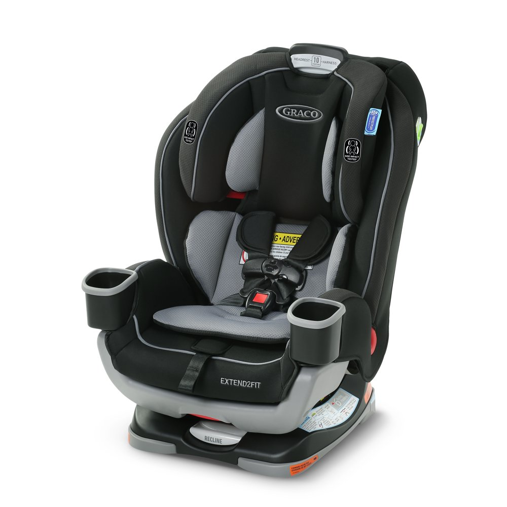 Graco Extend2Fit 3-in-1 Convertible Car Seat, Titus
