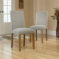 Pemberly Row Dining Chair in Gray (Set of 2)