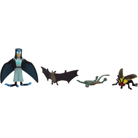 Wicked Cool Toys Wild Kratts 4-Pack Creature Power Action Figure,