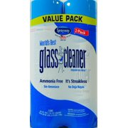 (2 Pack) Sprayway World's Best Glass Cleaner,19 oz