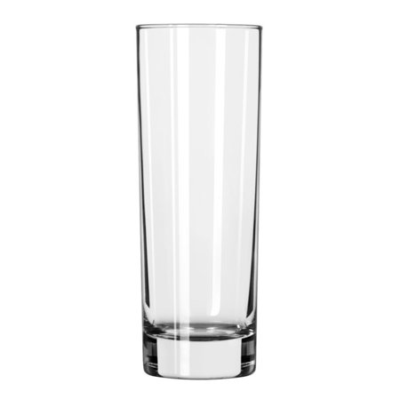 Libbey 2518 Chicago 10.5 Ounce Tall Hi-Ball Glass - 12 / (Hi Ball Glassware)