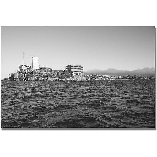 "Trademark Fine Art ""Alcatraz III"" Canvas Wall Art by Ariane Moshayedi"