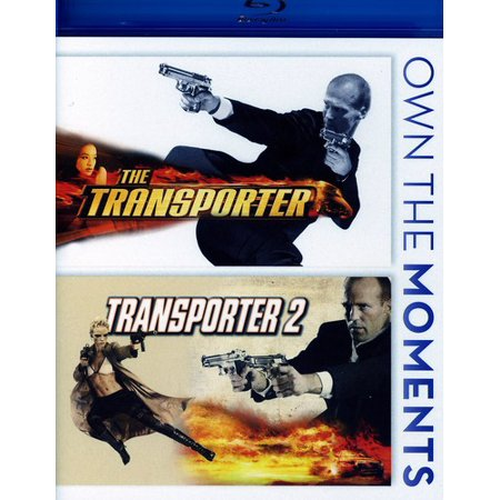The Transporter Collection  Blu Ray
