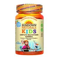Sundown Naturals Kids Disney Frozen Multivitamin Gummies, 60 Ea, 3 Pack