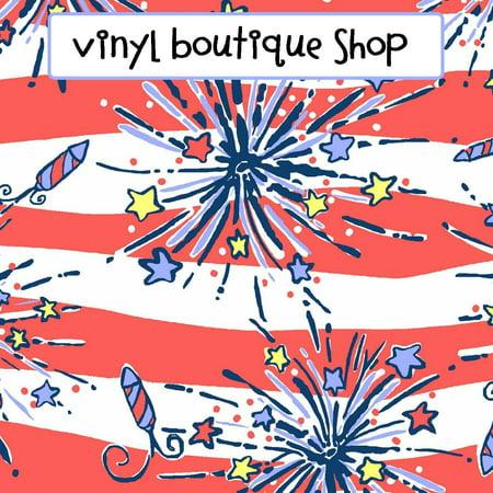 Firecracker Patriotic Lilly Inspired Vinyl