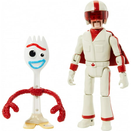 Disney Pixar Toy Story Forky & Duke Caboom Figure Set