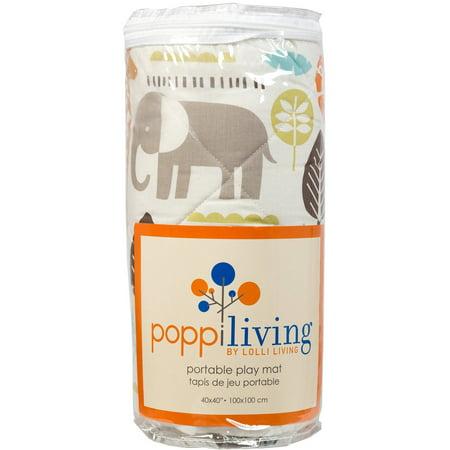 Poppi Living Safari Premium Cotton Reversible Play Mat