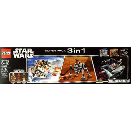 LEGO Star Wars Microfighters Super Pack 3 in 1 Set #66533 ()