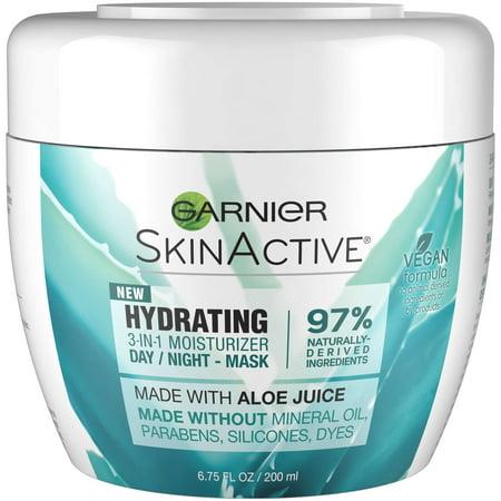 Garnier SkinActive 3-in-1 Face Moisturizer with Aloe, For Dry Skin, 6.75 fl. (Garnier Bb Cream For Dry Skin Review)