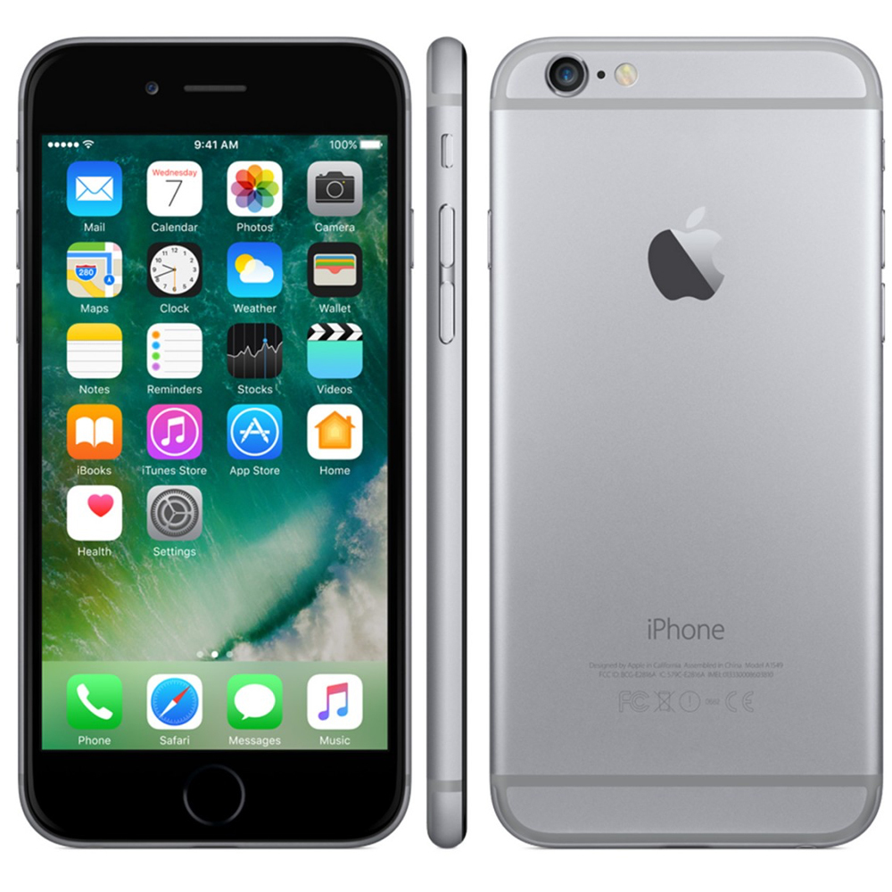 boost mobile iphone boost mobile apple iphone 6 32gb prepaid smartphone space 10301