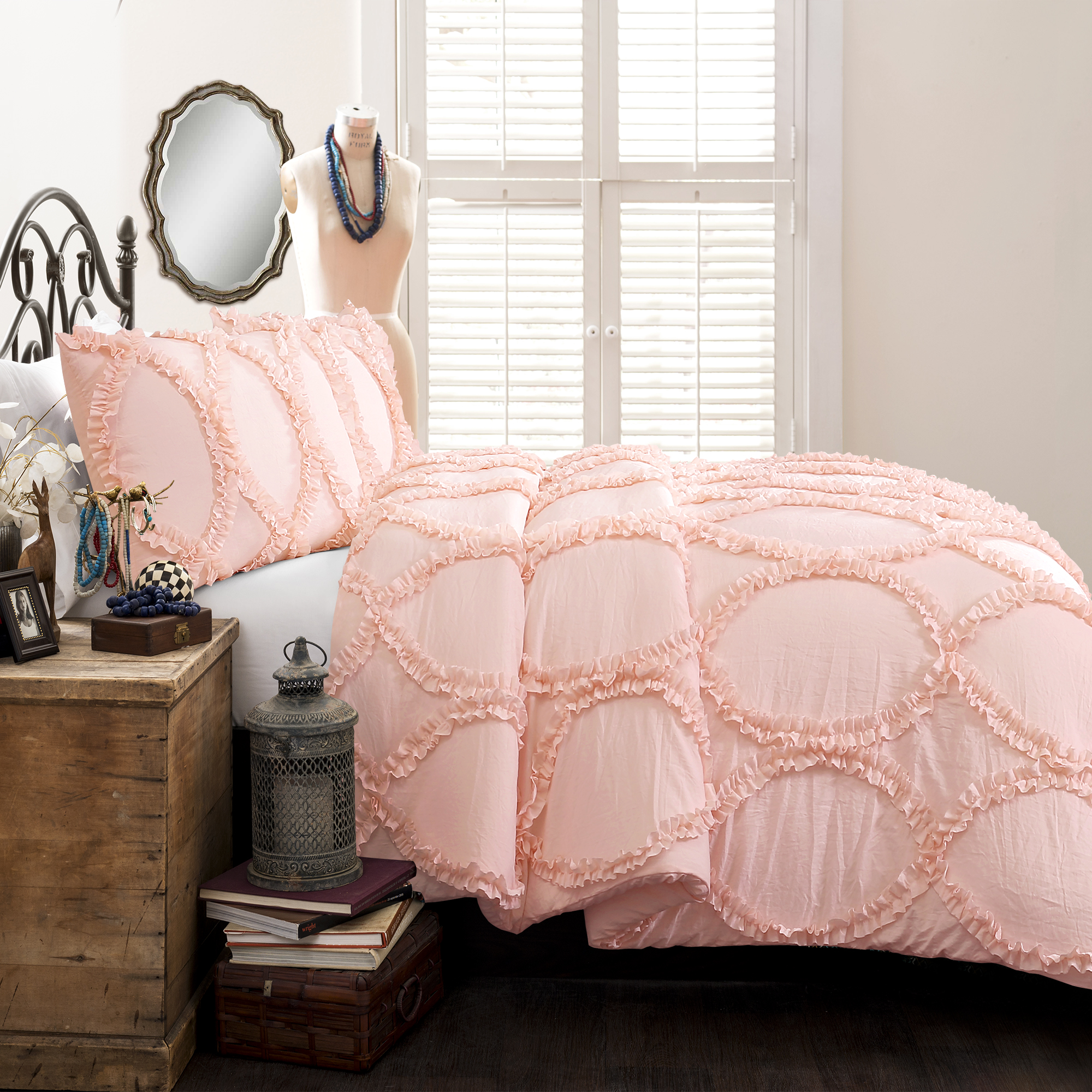Avon Comforter Pink 2Pc Set Twin
